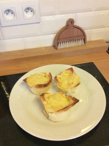 Rachel Khoo's Croque Madame, prepared in the Kernolou Kitchen