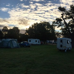 When the night falls bedford bambi campervan
