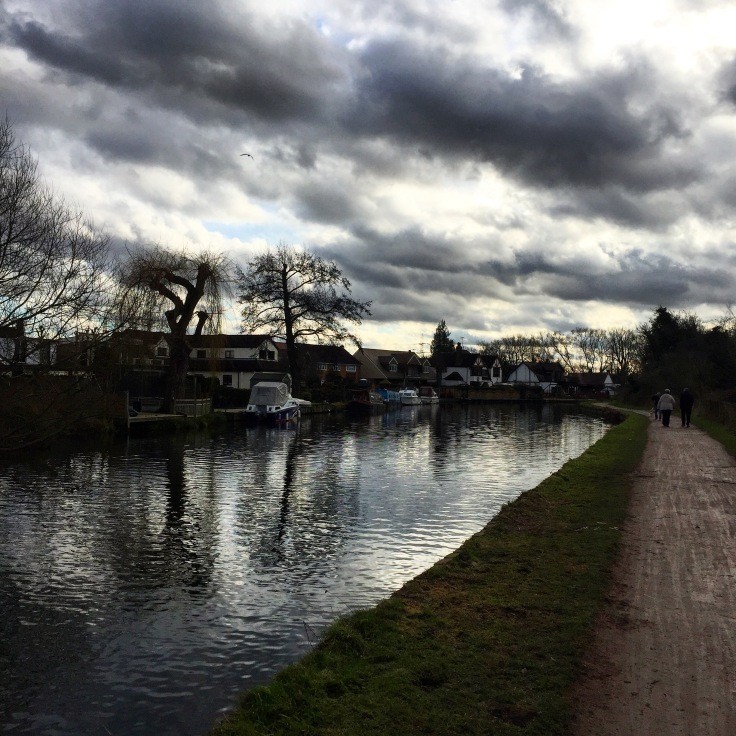 Walking along the River Lea