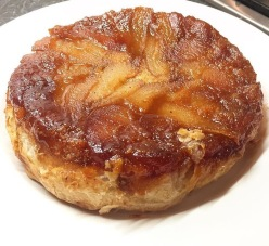 Pear and Frangipane Tatin