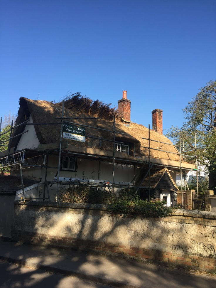 New thatching at Ashwell