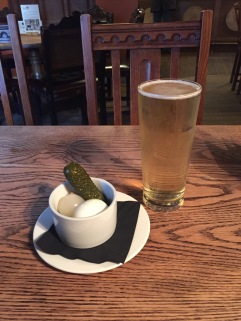 Punchbowl Pickles at the local village pub, Horningsea, Cambridge