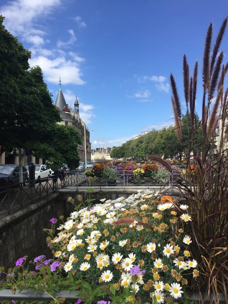 Quimper floral bridges
