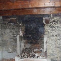 Kernolou 2009 Old Fireplace nearly gone