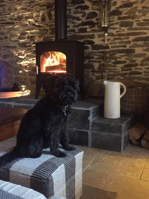 Kernolou 2017 fireplace