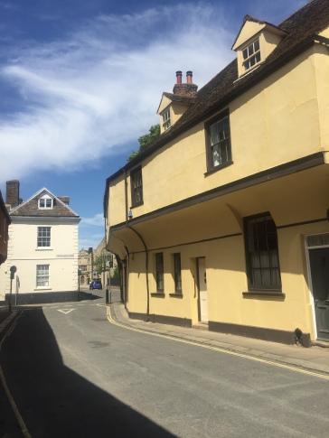 Ancient buildings in Kings Lynn Norfolk